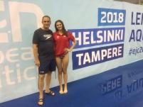 Jiří Adámek a Zora Ripková na MEJ 2018