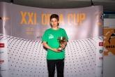 V kategórii 11-12 ročných najlepší bodový výkon dosiahol Peter Zsombor Racz z Maďarska za 100m znak časom 1:08.07s