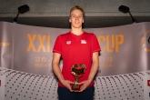 Najlepší bodový výkon v kategórii K1 muži - Jan Cejka (CZE), 50m znak, 819 bodov