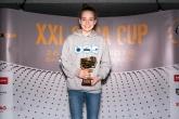 Najlepší bodový výkon v kategórii K3 ženy - Tereza Ožvaldová, 100m znak, 701 bodov